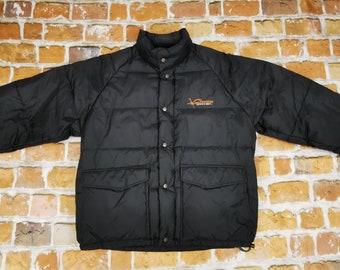Chevignon Vintage Winter Down Jacket Black Junior Dept Casual