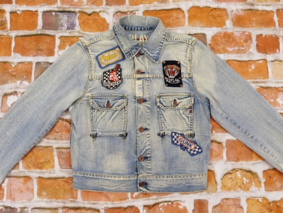 Replay Brand Jeans Jacket Angels