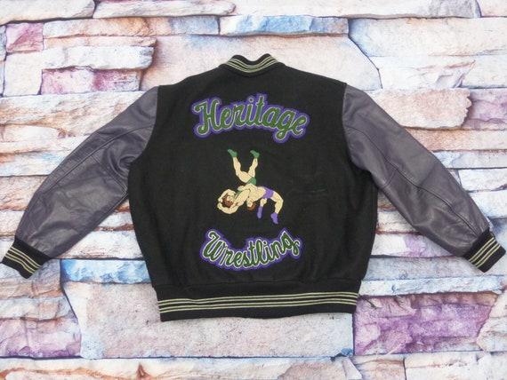 Wrestling Usa Baseball Jacket