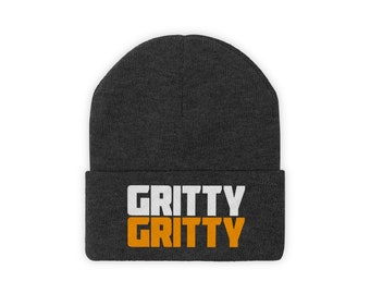 ca2dc28d2a586 Gritty Gritty Knit Beanie philadelphia flyers mascot hat hockey fans hat