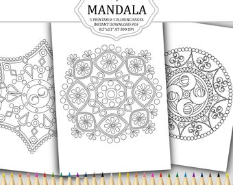 Coloring pages for adults | Etsy