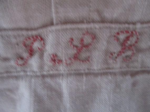 Mens antique shirt.  1800s linen shirt. Costume. … - image 3