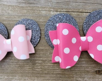 Buckle with Ears and polka dot breastplate