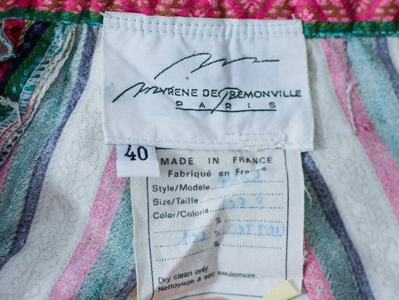 Myrene de Premonville pants W27 relaxed fit strip… - image 8