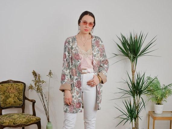 Oversized blazer Vintage Sally III 80s Boho jacket