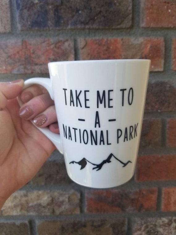 Take me to a National Park mug