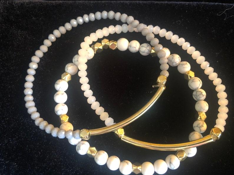 3 Beaded Bracelet Set