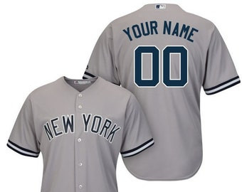 8127b87c4be Mens New York Yankees Custom Name   number Cool Base Baseball Jersey 2019