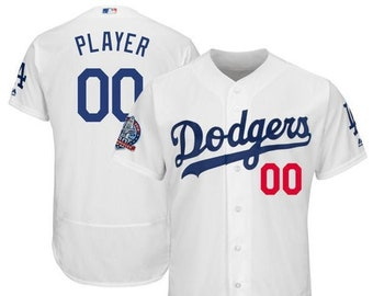 b52759257 Stitched Mens Los Angeles Dodgers Custom Name & number Flex Base Baseball  Jersey 2019 Stitched Name And Number