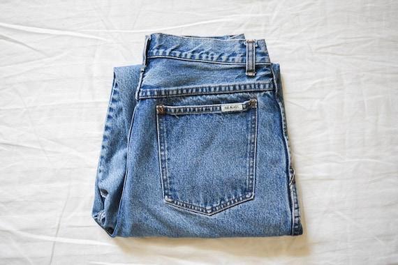 BillBlass 80s vintage pleated high waist jeans | v