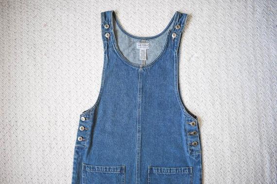 90s vintage Arizona medium blue denim jean jumper… - image 6