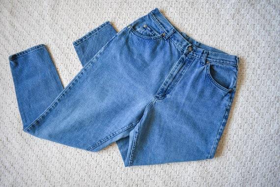 Vintage 90s Lee denim distressed baggy boyfriend jeans 29