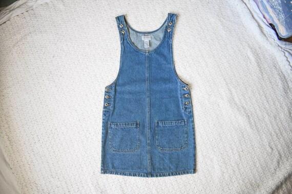 90s vintage Arizona medium blue denim jean jumper… - image 2