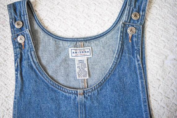 90s vintage Arizona medium blue denim jean jumper… - image 7