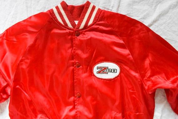 50s 60s vintage racer jacket | satin racer jacket… - image 3