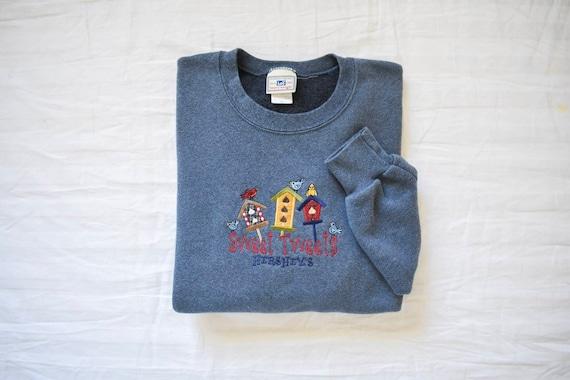 vintage oversized birdhouse sweatshirt | vintage H