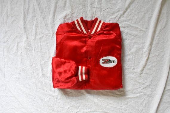 50s 60s vintage racer jacket | satin racer jacket… - image 7