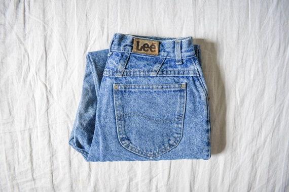 80s 90s Lee mom jeans | vintage high waist jeans