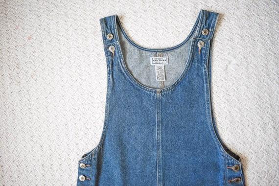 90s vintage Arizona medium blue denim jean jumper… - image 5