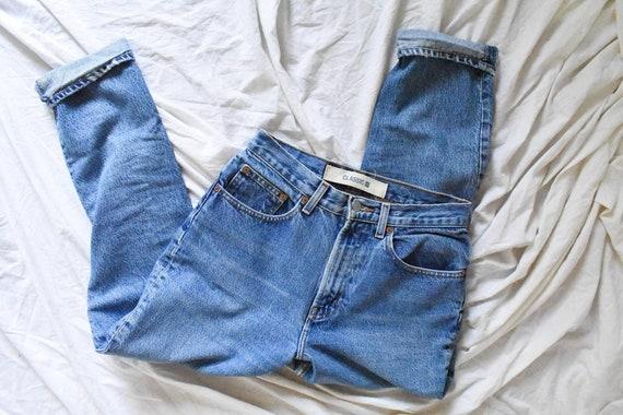 90s vintage high waisted mom jeans | vintage Gap m