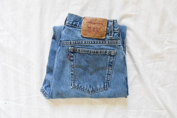 vintage Levis 550 high waist mom jeans | Levi Stra
