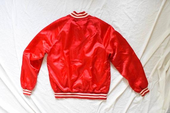 50s 60s vintage racer jacket | satin racer jacket… - image 5