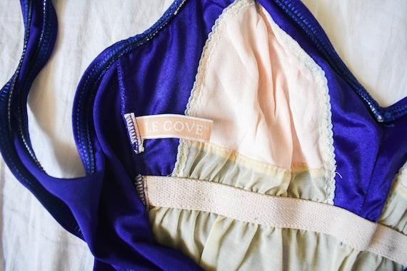 70s vintage one piece swimsuit | vintage purple s… - image 7