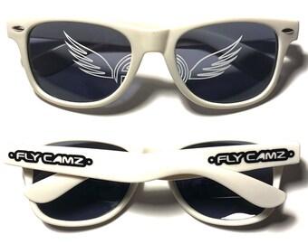 FLY CAMZ Sunglasses Option 3 (Lens & Arm Logos)
