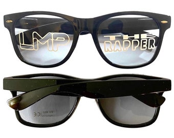 LMP THE RAPPER Sunglasses (Option 2 - Lens Logos)