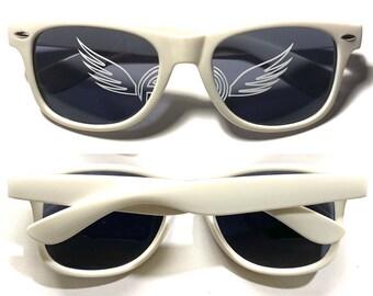 FLY CAMZ Sunglasses Option 2 (Lens Logos)