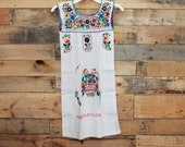 Girls Mexican dress sleeveless size 6