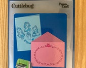 New! Retired Provo Craft Cuttlebug Princesses Embossing Folders