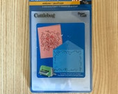 New ! Retired Provo Craft Cuttlebug Mickey Celebrates Embossing Folders
