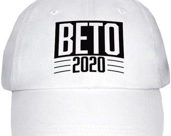 10cd24dc38f7b Beto 2020 Baseball Cap - hat - Printed