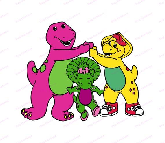 Perfect barney and friends clip art invitaciones infantiles de.