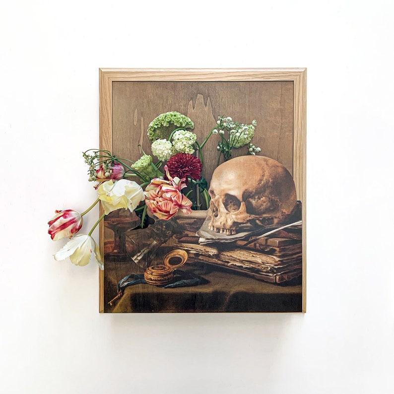 Vanitas painting EN/OR vase image 0