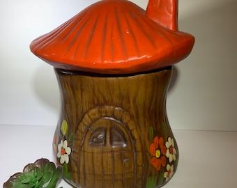Elf Cookie Jar Etsy