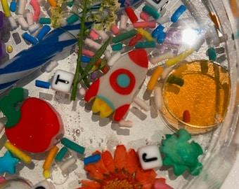 ROOLA Moms Resin I Spy Coasters