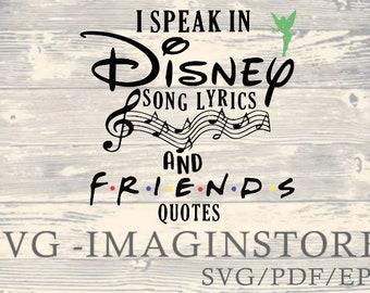 i speak in disney song lyrics quotes wooden sign