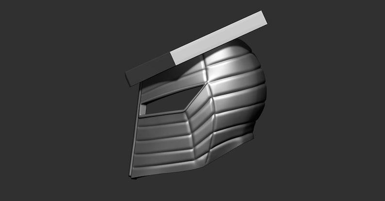 Destroyer marvel Helmet scale 1:1-3d print Digital STL file