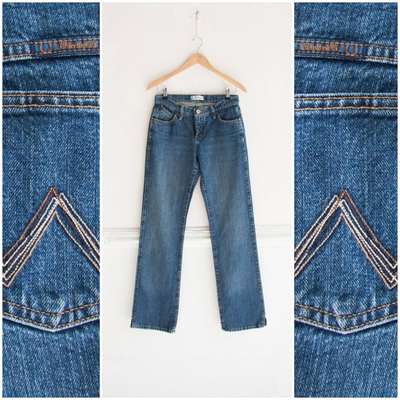 Vintage Wrangler Jeans Womens XS S Cowgirl Jeans L