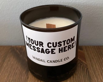 Personalized Candle | Gift Candle | Custom Gift