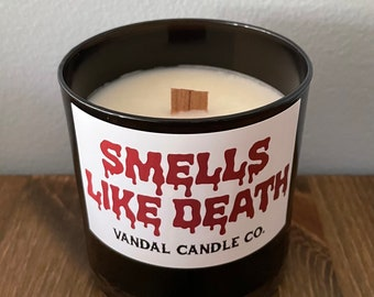 Smells Like Death | Spooky Soy Wax Candle | Gift Ideas