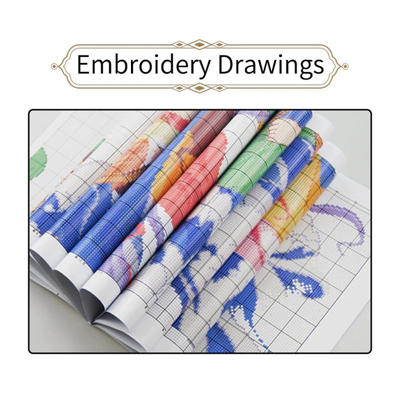 Diy Craft Stitchery Kit Cute Animals Xstitch Embroidery Beginners Easy Embroidery Needlepoint Kit Funny Mouse Cross Stitch Embroidery Kit