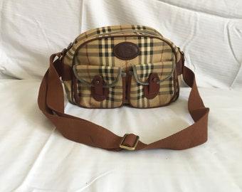 f5a933def4 Burberry Vintage sac à bandoulière-livraison gratuite dans le monde entier