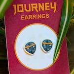 journey traveller earring studs