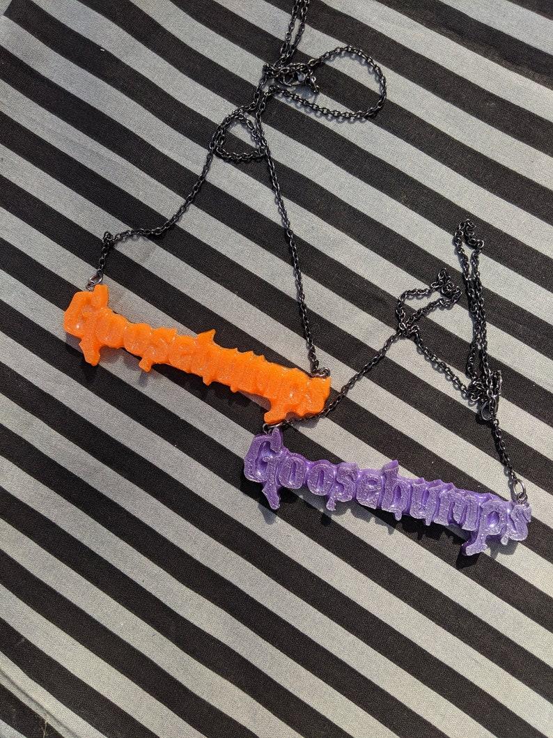 Goosebumps necklace image 0