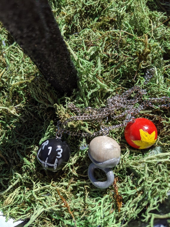 Coraline Inspired Lost Souls Necklace Ghost Children Ghost Etsy