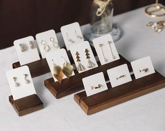 Earrings Stand, Earring Card Holder, Earrings Organizer, Stud Holder, Earring Display Stand, Craft Show Display