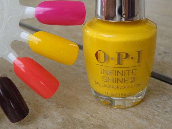 Opi Nail Polish Fiji Collection Exotic Birds Do Not Tweet Shiny Yellow 15ml
